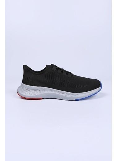 Krähe Siyah Triko Sneaker Siyah